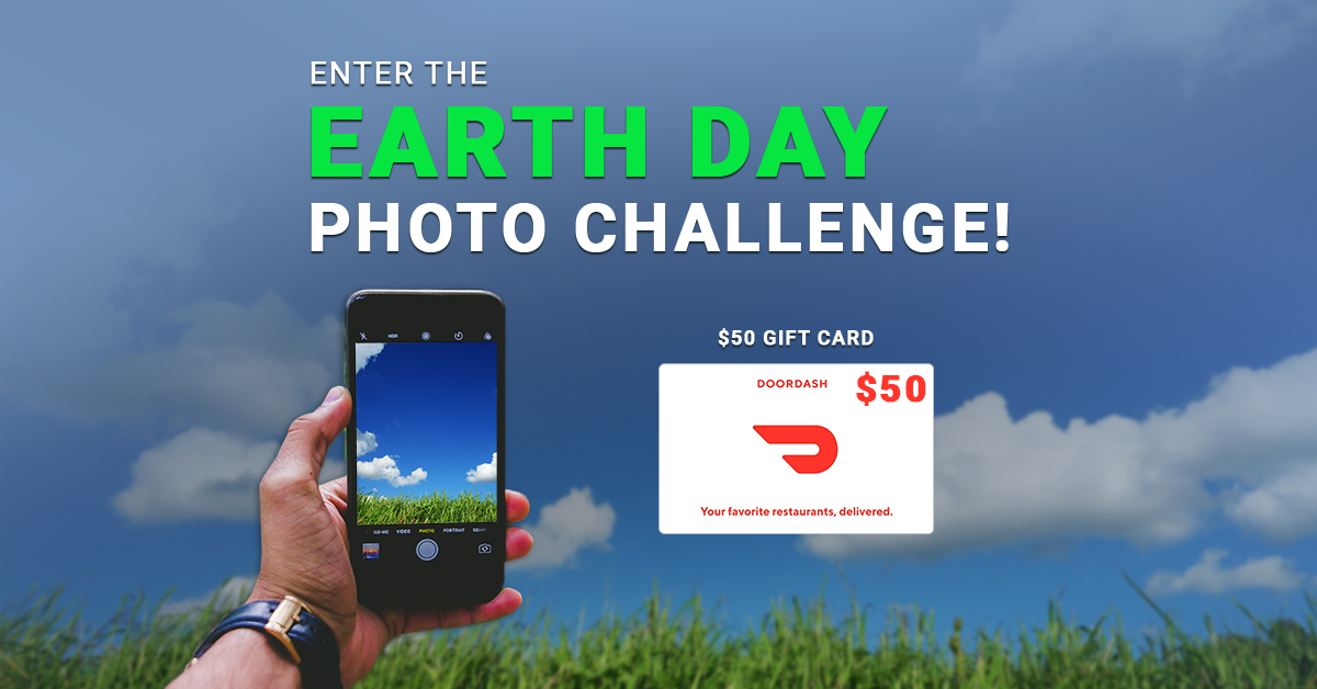Earth Day Photo Challenge Banner