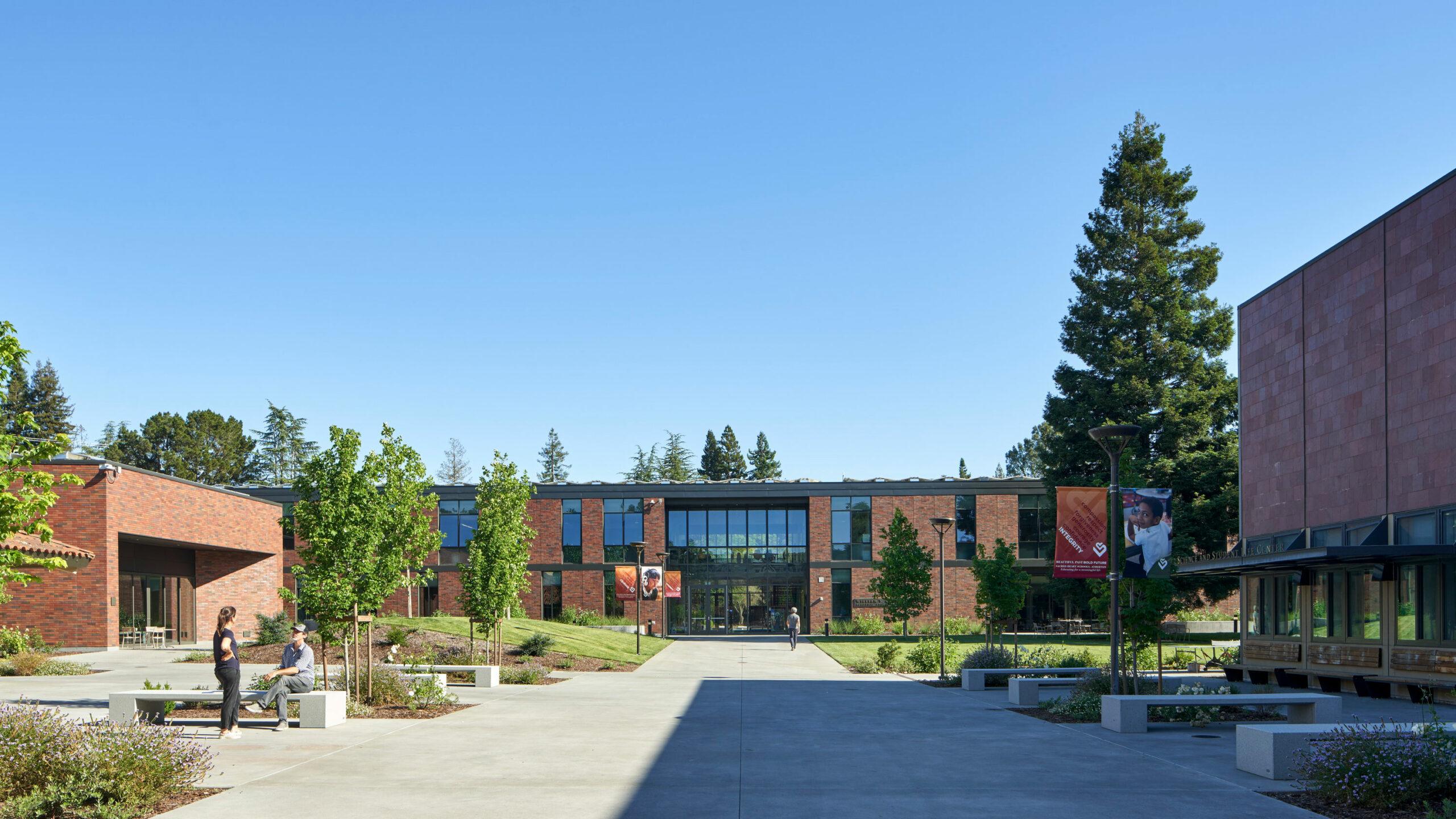 Sacred Heart Schools, Building exterior