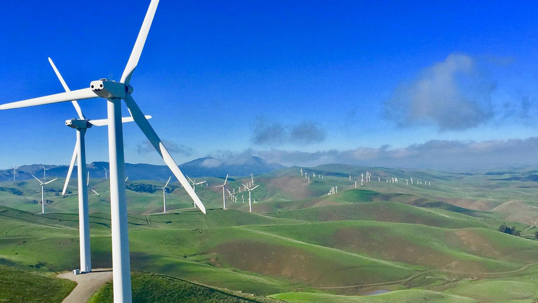 Buena Vista wind farm, Contra Costa County, 38 MW