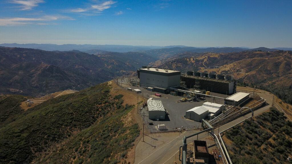 Sonoma U-3 (photo courtesy of Calpine Corporation & Geysers Power Company, LLC.)